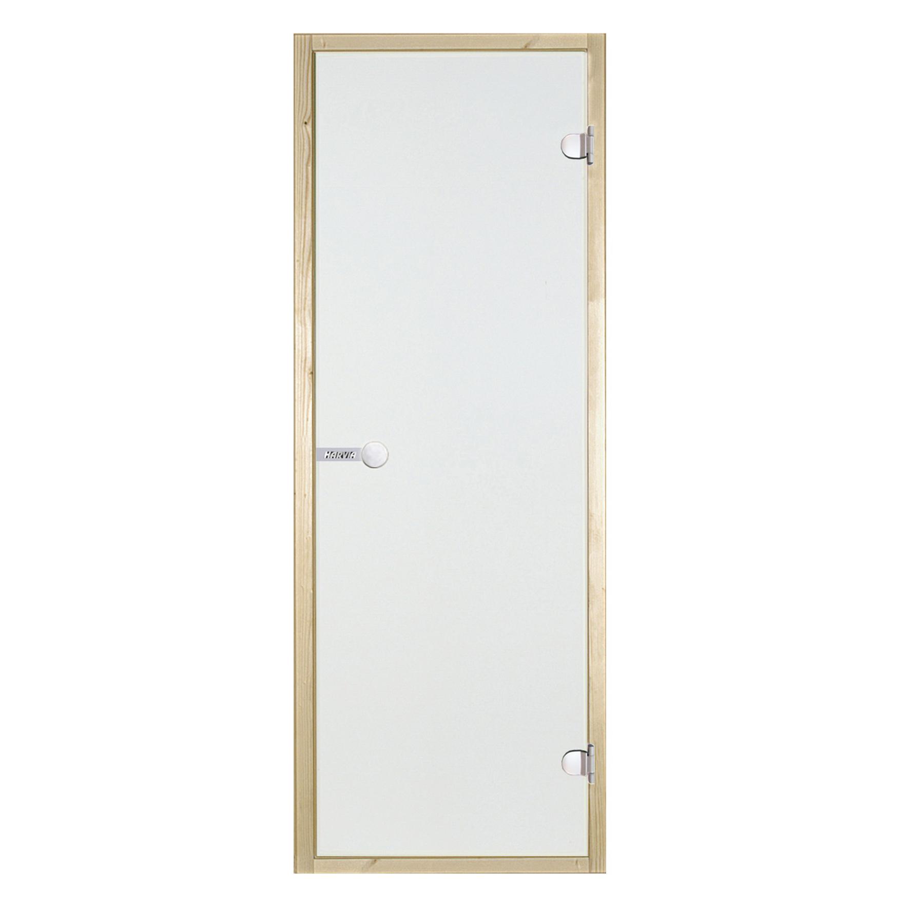 HARVIA Двери стеклянные 7/19 коробка осина, прозрачная D71904H