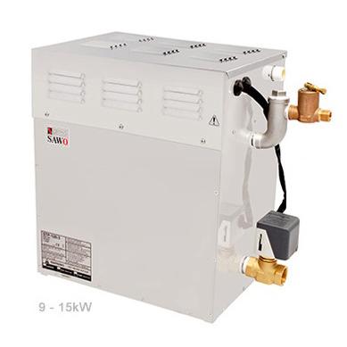 SAWO Парогенератор STP-150 с 3 доп. функциями: свет, вентилятор, насос-дозатор