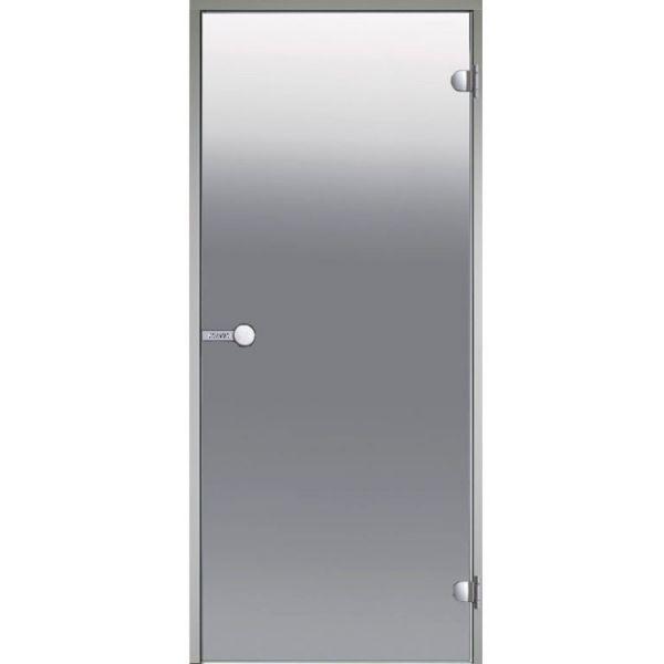 HARVIA Двери стеклянные 8/19 коробка ольха, бронза D81901L