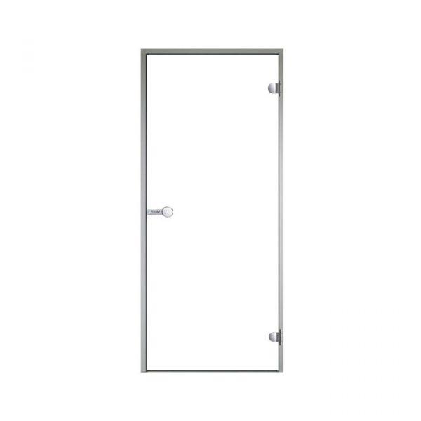 HARVIA Двери стеклянные 9/21 коробка алюминий, стекло прозрачное, арт. DA92104
