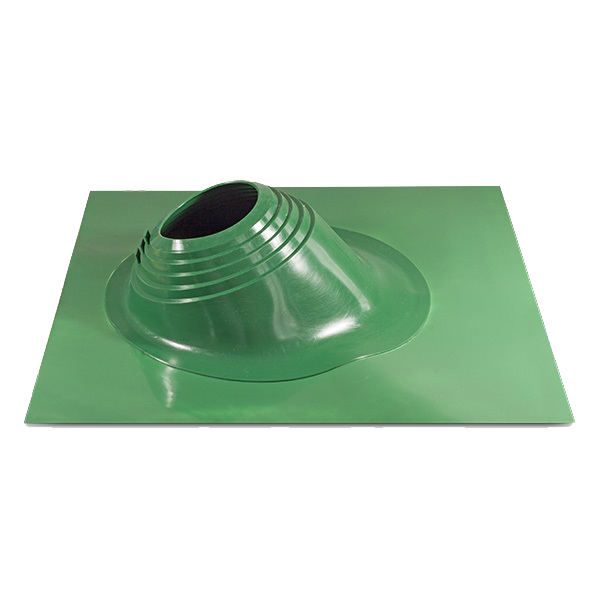 MASTER FLASH Уплотнитель кровельных проходов YS-06 угловой, зеленый