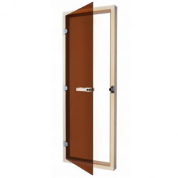SAWO Дверь 7/19, бронза с порогом, 730-4SGА