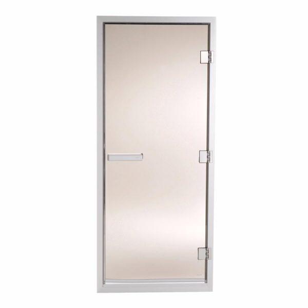 TYLO Дверь для турецкой парной 60 G, стекло бронза, коробка белая, арт. 90912003