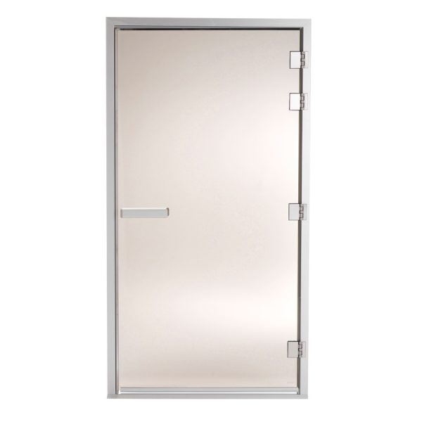 TYLO Дверь для турецкой парной 101 G, левая, коробка белая, арт. 90912032