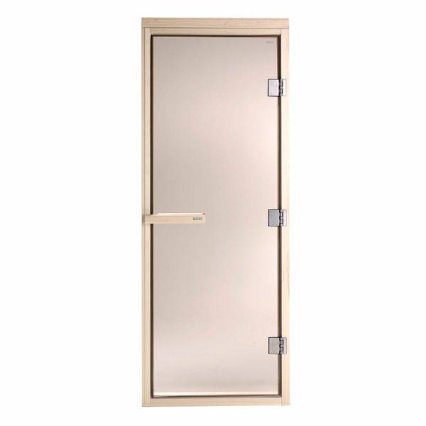 TYLO Дверь для сауны DGM-72 190 ольха, стекло бронза, арт. 91031010