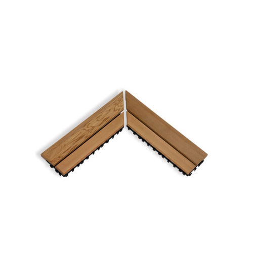 SAWO Коврик деревянный, 595-D-CNR угловой