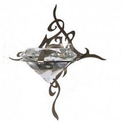 CARIITTI Светильник «KIHLA» оптоволоконный, нерж. сталь
