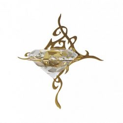 CARIITTI Светильник «KIHLA» оптоволоконный, золото