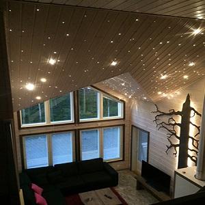 CARIITTI «Звездное небо» VPL10K - 75 CRYSTAL STAR, 75 волокон + 7 хрусталиков, холодный свет, хром, комплект