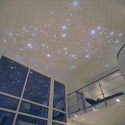 CARIITTI «Звездное небо» VPL30CT - CEP150, 150 волокон, синее мерцание, комплект