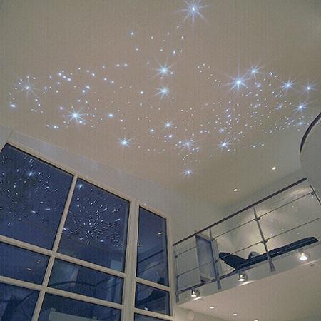CARIITTI «Звездное небо» VPL30CT - CEP75, 75 волокон, синее мерцание, комплект