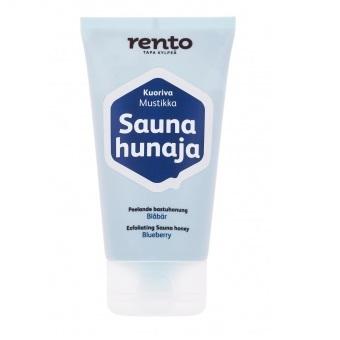 RENTO Мед-скраб для сауны 150 мл, черника